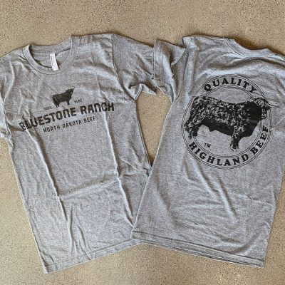 Bluestone Ranch North Dakota Beef T-shirts